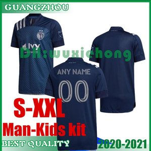 2020 Sporting Kansas City de adultos y niños kit Fútbol MLS PULIDO 9 Busio 13 RUSSELL 7 GERSO 12 KINDA 15 camisetas de fútbol Jersey S-XXL