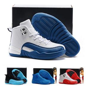 Chaussures enfants de 12 ans de basket-ball Chaussures Sneakers Garçons Filles Français Bleu Le Master Taxi Enfants Sports Chaussures Tout-petits cadeau d'anniversaire 28-35