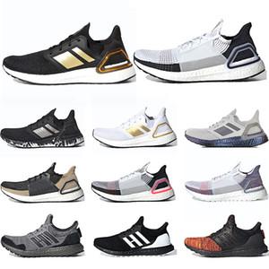 Adidas Ultra Boost 19 Hombres Mujeres Zapatos para correr Láser Rojo Píxel oscuro Refract Core Negro Diseñador Trainer Deportes Tamaño 36-47