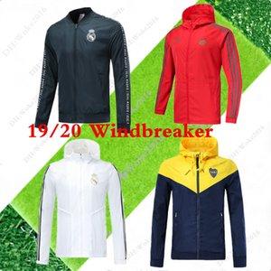 19 20 Реал Мадрид Hazard Ветровка спортивная одежда 2020 Bayern футбол куртка на молнии Ветровка 19 20 Boca Juniors футбола Спортивная