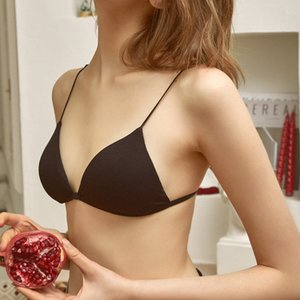 GUMPRUN Sexy Lingerie Seamless Front Closure Bras For Women Wireless Push Up Bra Backless Comfortable Underwear Soft
