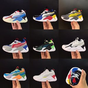 kids Puma Sneaker RS X Toys Sneaker New RS-X Hard Drive Sneakers JR Running Shoes For Children Boys Girls High Quality RS X Toys Children Shoes