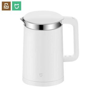 Controle Xiaomiyoupin Mijia elétrica chaleiras inteligente temperatura constante Kitchen Kettle Água Samovar 1.5L Isolamento Térmico Bule APP