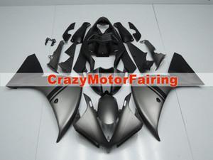 4 подарки Новый ABS литья мотоцикл пластиковые обтекатели комплекты, пригодные для YAMAHA YZF-R1-1000 2012-2014 12 13 14 обтекатель кузова установлен на заказ серый