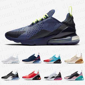 Nike Air max 270 airmax shoes  marinho e Borgonha homens mulheres running shoes Malha Branca South Beach SE Floral Firecracker Treinamento Esportes Mens Formadores Zapatos Sneakers
