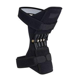 1 STÜCK Atmungsaktive Rutschfeste Lift Joint Support Knieschützer Leistungsstarke Rebound Spring Force Knie