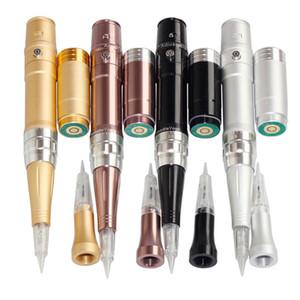 Sıcak Satış Profesyonel Kalıcı Makyaj Makinesi Kitleri Elektrik Kaş Dudaklar Şarj Edilebilir Kablosuz Dövme Tabancası Için Elektrikli Microblading Kalem