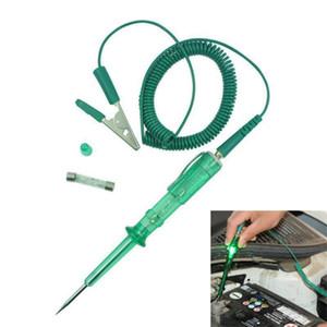 Luce della lampada di CC 6V / 12V / 24V matita della prova dell'automobile del camion del motociclo di tensione Tester circuito lungo del motociclo Elettricista Test # YL10