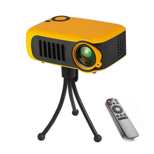 A2000 LCD Мини проектор поддержки 1080P SD Card USB домашний кинотеатр карманный портативный проектор видео Цифровой проектор Мультимедийный плеер игры