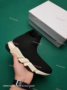 Balenciaga sports shoes Designer Calzino Triple Nero Bianco Scarpe Uomo Donna Moda Sneakers Glitter Giallo Blu Rosa Moda Uomo da corsa Allenatore Scarpe Runner