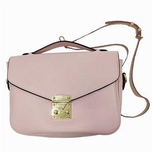 Borsa Womens Designer Borse Borsa a tracolla dal design di lusso borse Borse di lusso della frizione cuoio genuino delle donne di colore rosa Tote Bags Designer 96
