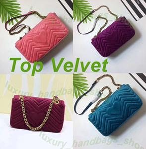 Love heart Wave Pattern НОВЫЕ ПРИБЫТНЫЕ роскошные сумки женские сумки дизайнерские маленькие мессенджер Велюровые сумки feminina бархатные женские сумки 446744