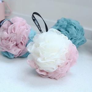 Vücut Loofah Banyo Masaj Temizleme Aracı DBC BH3578 İçin Çok renkli Süper Yumuşak Banyo Ball Banyosu Sünger Scrubber Vücut Arındırıcı Duş Toplar