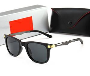 Les nouvelles lunettes de soleil pour hommes au volant des lunettes de soleil avec des verres à ressort, classique rétroRaybanlunettes de soleil 4287