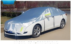 Nueva cubierta de automóvil al aire libre, medio conveniente, protector de calor, automóviles, sombrilla, película de aluminio, cubiertas de campana de enfriamiento, equipos de campamento, 31lt N1