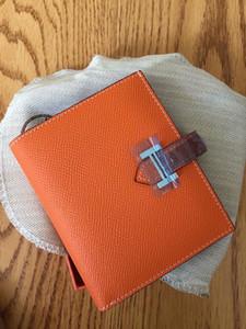 Garantía de calidad Cartera de cuero genuino de las mujeres Walet Portomonee Lady Zipper Money Bag Vallet Portamonedas Titular de la tarjeta Perse