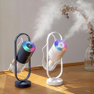100pcs Moda 200ML Sihirli Gölge Nemlendirici Gece Işığı USB Hava Arıtma Yaratıcı Araba Masaüstü Yatak Ev Taşınabilir Nemlendiriciler