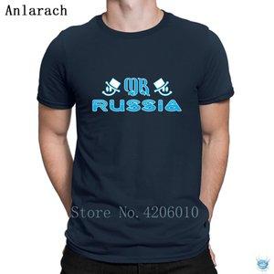 Mr Russia T-Shirt Weird Custom New Arrival HipHop Men's Tshirt Cheap Sale Normal Summer Anlarach Crew Neck