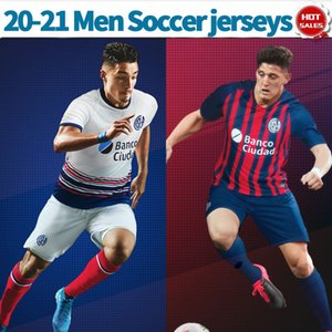 20/21 San Lorenzo calcio domestico Jersey 2020 Argentina Lega del club della camicia di calcio San Lorenzo via bianchi uniformi uomini di calcio