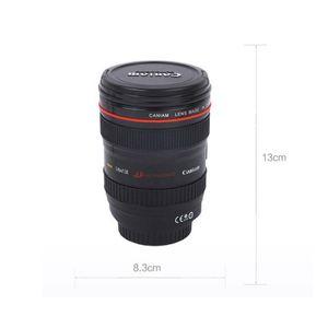 Kameraobjektiv-Kaffeetasse Kreative Len Wasser Milch Saft Cup Designer Home Cafe Tasse Trinkgefäße HHA1155