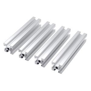 perfil de alumínio 4pcs CNC 2020 Printer Extrusão padrão da UE 3D Parts anodizado Linear Rail Perfil de alumínio preço maior