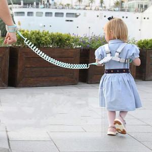 Protezione per i bambini Cintura anti-perso con trazione a fune doppio scopo del braccialetto di prevenire la perdita di corda sicurezza del bambino prodotti di protezione