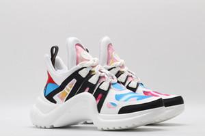 Yeni tasarımcı Marka ACE Archlight Sneaker Kadın Erkek Casual Tasarımcı Ayakkabı Moda Siyah Beyaz Açık Yürüyüş Lover Ayakkabı 35-42