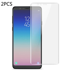 2 PCS IMAK 0.15mm Curved Full Screen Protector Hydrogel Film Front Protector for Galaxy A9 Star