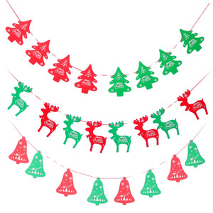 Banners Wall Hangings Decorazioni natalizie Clearance Ornaments Pendant Xmas Ornaments Buon Natale Decorations Indoor for Home