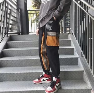 Mens Designer Pants Styles Casual High Street Versão Coreana Harun tornozelo Banded Pants calças cargo Juventude