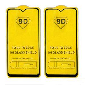 9D полное покрытие закаленное стекло защитная пленка для экрана Samsung S10 NOTE10 LITE A10 A20 A30 A40 A50 A60 A70 A80 A90 A10E A20E A20S A30S A40S