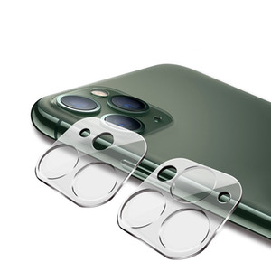 Telefon-Objektiv-Schirm-Schutz für iphone 11 Pro MAX XS XR X hinteren Kasten 3D Transparent Kratzfeste Rückseite Kamera Ausgeglichenes Glas-Film-Abdeckung