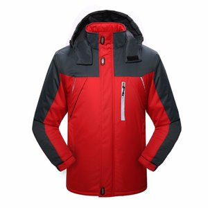 Top Winter New Style plus Velvet Raincoat Jacket 2019 Multi-color Selectable Outdoor MEN'S Coat Men'S Wear Feature Clothing