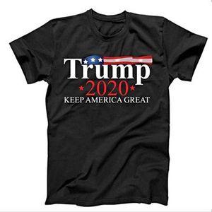 2020Trump Printed T shirt Trump2020 Tshirt Keep America Grande Euro formato XS-XXXXL concedono Stampato d08
