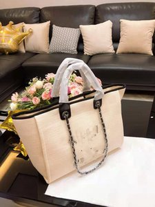 Цепь Холст Мода Пляж сумка на ремне Нового ноутбук для Сумочки Totes сумки Женщины Покупки Мумии мешок Высокого качества Женской