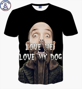 mens concepteur taille européenne de grande taille 3DT chemise à manches courtes graisse figure art créatif drôle T col rond T-shirt