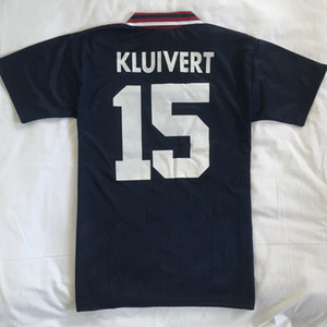 1994 1995 rétro ajax 4 Rijkaard 15 Kluivert DE BOER Kit chemises de football maillot de football shirt Kits Maillot football camisa de futebol Camiseta