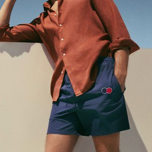 20SS Respirant Lumière Survêtement Pantalon Lettre broderie Cercle Shorts Hommes Pantalons Mode Femmes Haute Qualité Rue Pantalon HFXHDK028