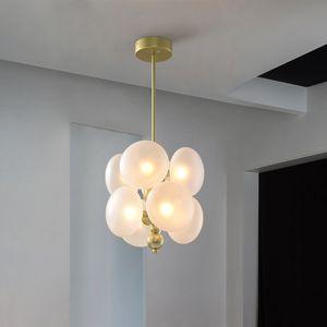 Creativas Cristal colgante luces para Comedor / Sala de estar nórdica linterna iluminación pendiente Cafe barra de colgar artefacto de iluminación
