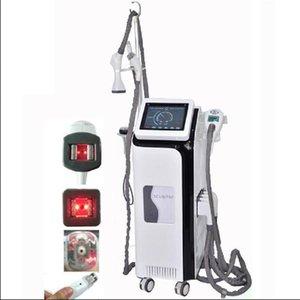 Velashape zayıflama makinesi Kavitasyon + Vakum + Merdane + rf + Kızılötesi ışık + Merdane ultrasonik kavitasyon Makinesi Liposuction zayıflama makinesi