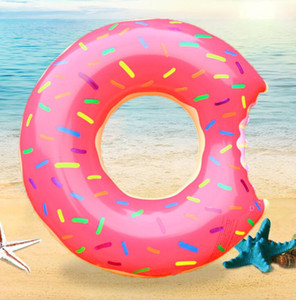 60-120cm kids adult Donut swim ring Pool Floats tube Inflatable Floats Pool Toys Swimming Float Adult swimming rings air mattress