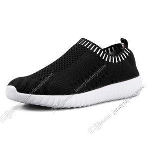 Best selling large size women's shoes flying women sneakers one foot breathable lightweight casual sports shoes running shoes Forty-nine