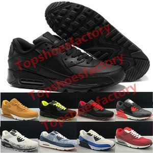 Nike air max 90 shoes Uomini 90 Scarpe da corsa Virgilio Designer World cup Triple bianco nero rosso off Sneakers 90s formatori classici sport Chaussures zapatos 36-45