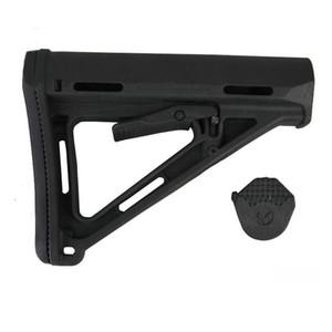 장난감 소총 장난감 총 CTR 스톡 블랙 AEG GBB Polymerme 장난감 Buttstock M4 / M16 퍼플 드