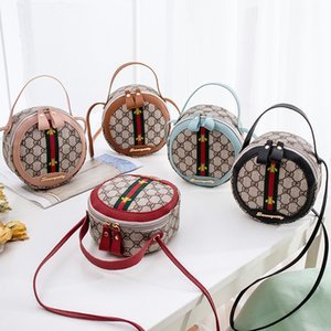 Lüks Arı Baskı Crossbody Çanta GD Harf Omuz Çantaları Yuvarlak Kadınlar Çanta Açık Seyahat Messager Çanta Kızlar Tasarımcı Telefon Kılıfı Cüzdan