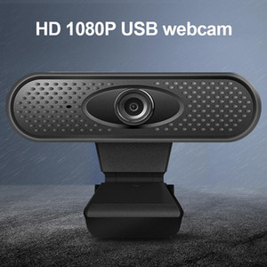 Full HD 1080P Webcam USB Web Camp with Microphon Driver-free Video Webcam for Online Teaching Live Broadcast in retail box