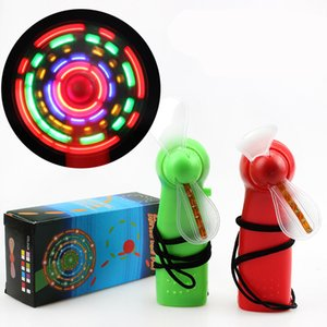 2020 Summer led mini fan children colorful small fan kids LED Lighted Toys Handheld flash Fan LED Toys Z1120
