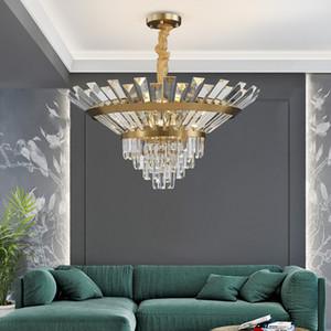 Роскошные хрустальные люстры цветок Блестящие Круглые Светильники светодиодных висячий Крытые лампы для столовой гостиная современного номер AC 90-250V