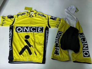 2020 مرة واحدة صفراء Summmer الترياتلون فريق الدراجات جيرسي ملابس دراجة مايوه ciclismo روبا الحجم XXS-6XL N11