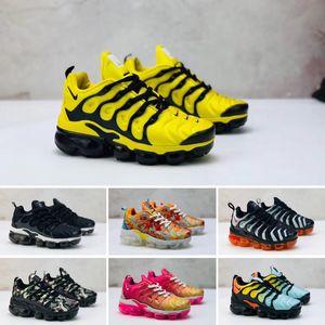 cheap 2020 shoe fashions kids women Super light tn comfortable Black White shoe Plus Mens casual shoes size 24-35